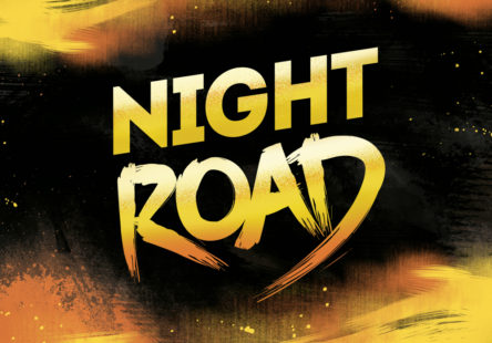 miniature-night-road