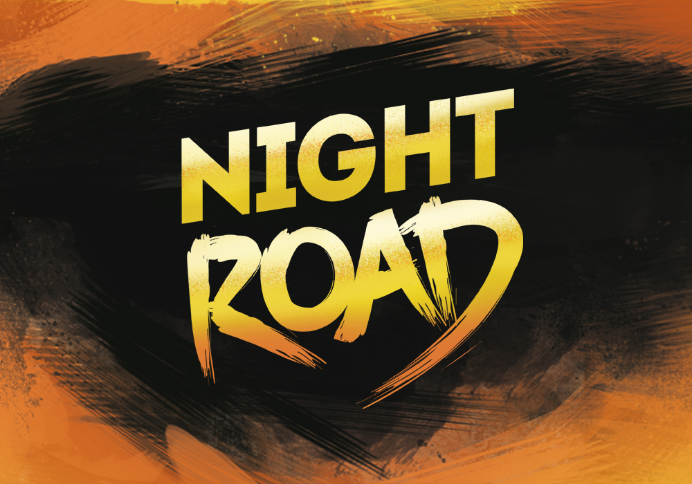 miniature-night-road
